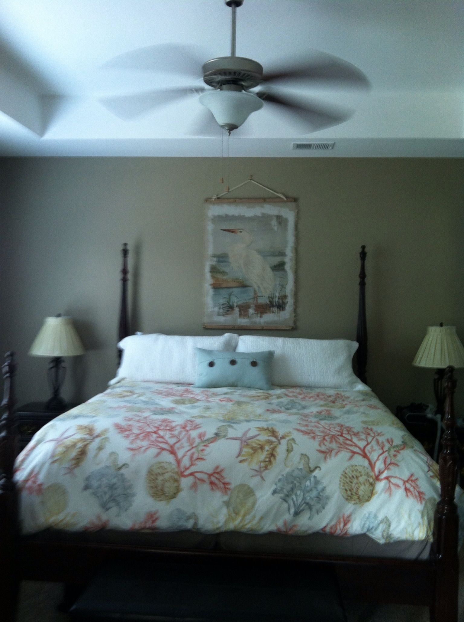 This Is My Bedroom Pottery Barn Duvet Behr Riviera Beach