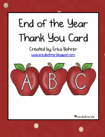 Free End of the Year Thank You Card