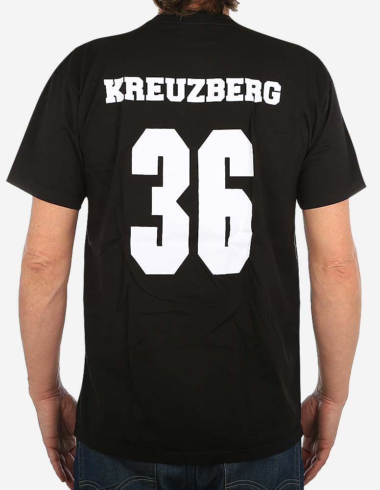Berlin Original Kreuzberg 36 T Shirt Black White Depot2 De Streetwear Shirts T Shirt