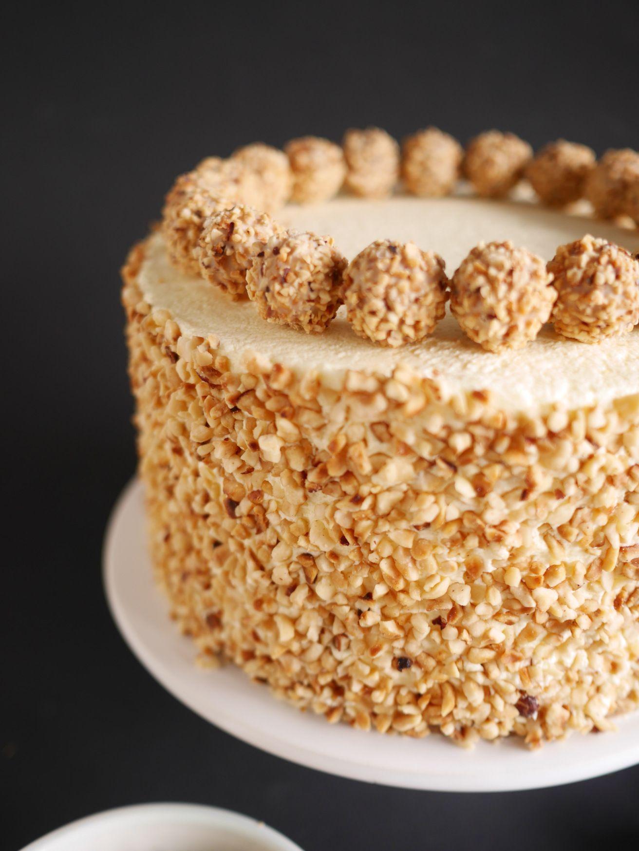 Nuss Torte Torten Pinterest Kuchen Nuss Sahne Torte Und Nuss