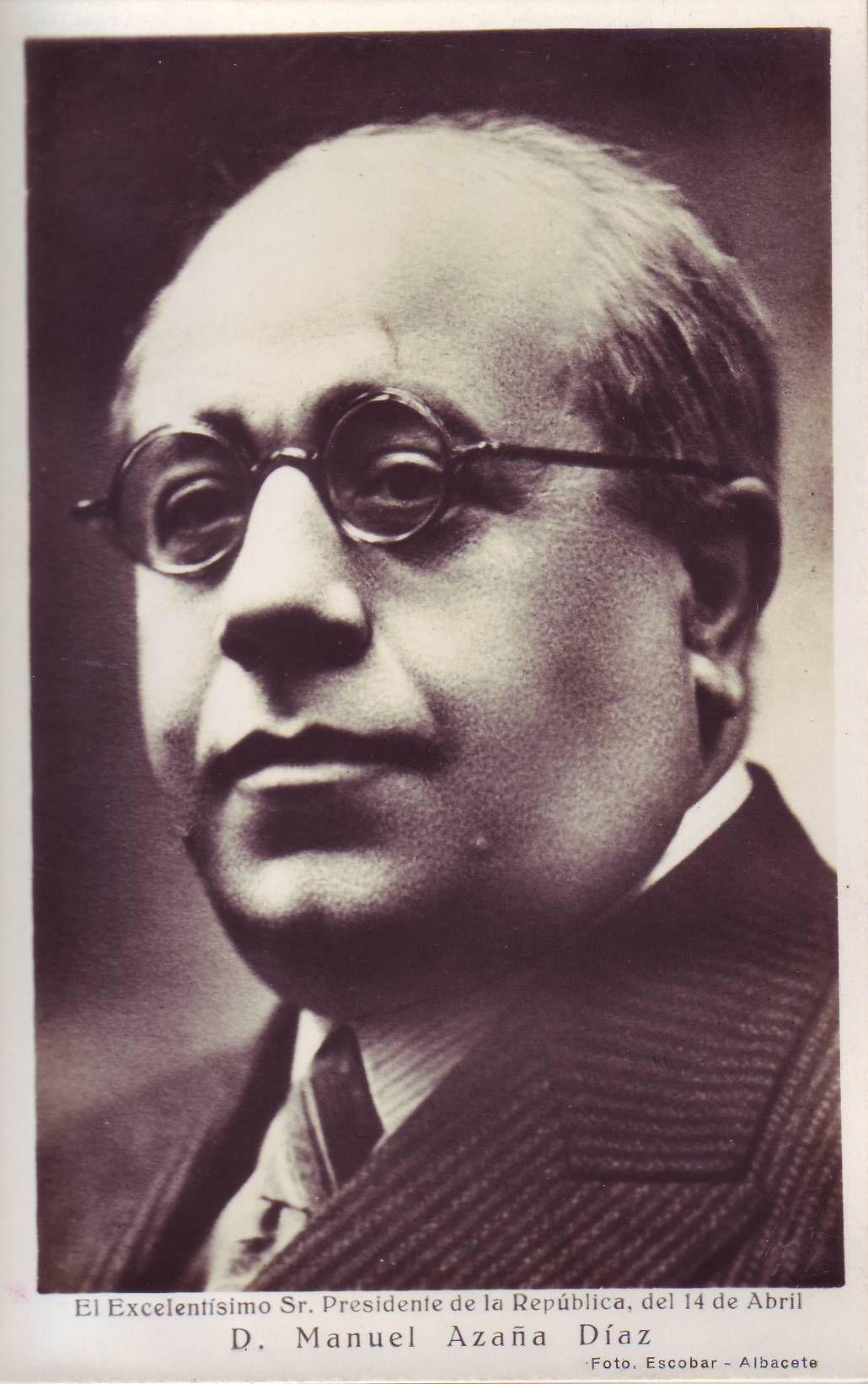 Image result for Manuel Azaña