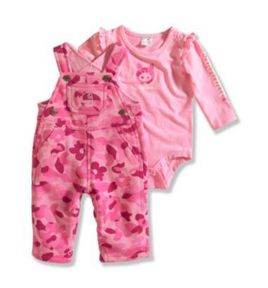 carhartt baby girl 3pc outfit adorable!