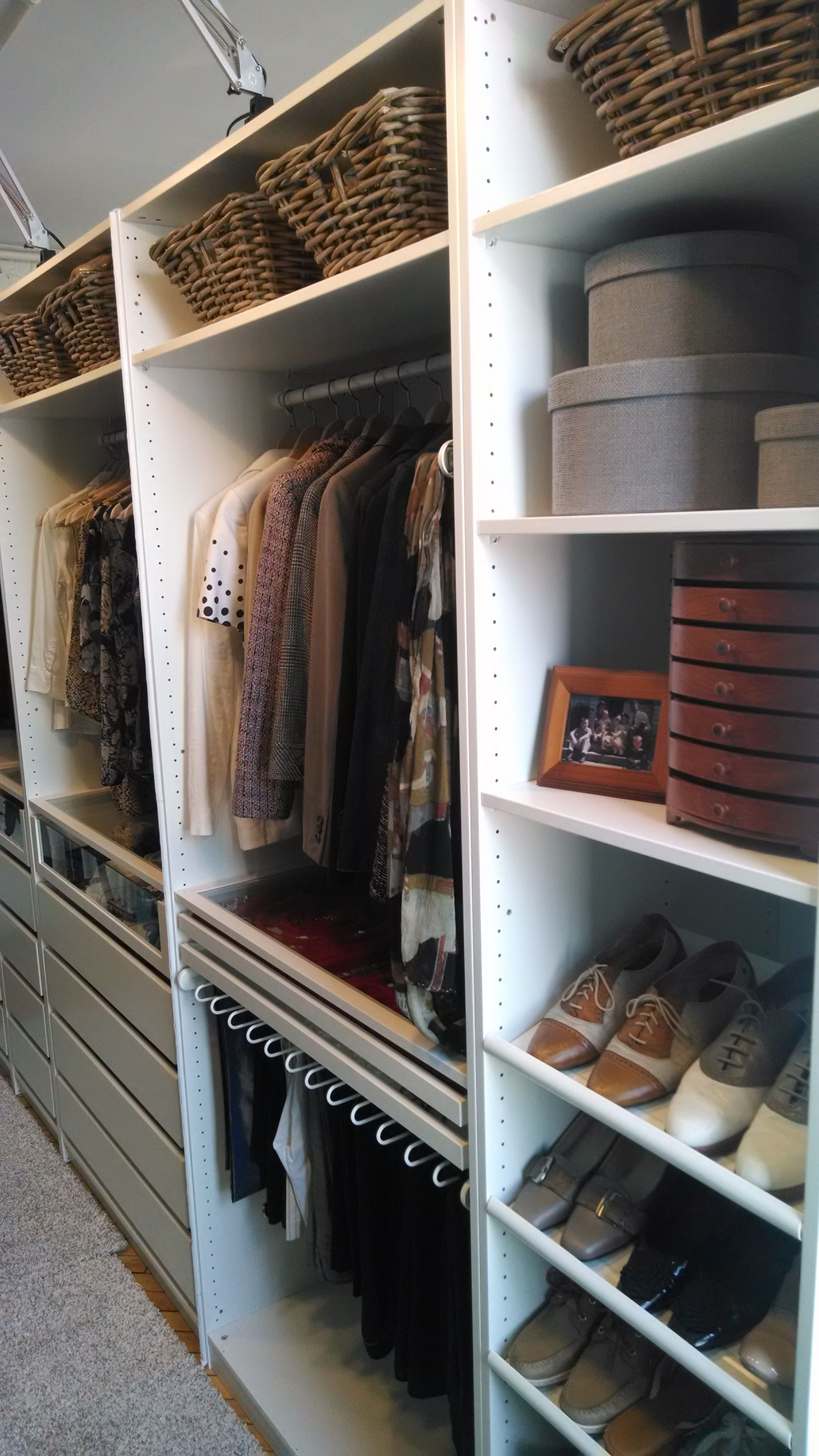 create a custom wardrobe system with the pax series! choose your