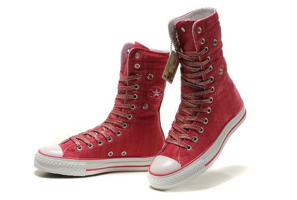 Converse Chuck Taylor All Star X HI Rose Canvas Shoes | Tenis