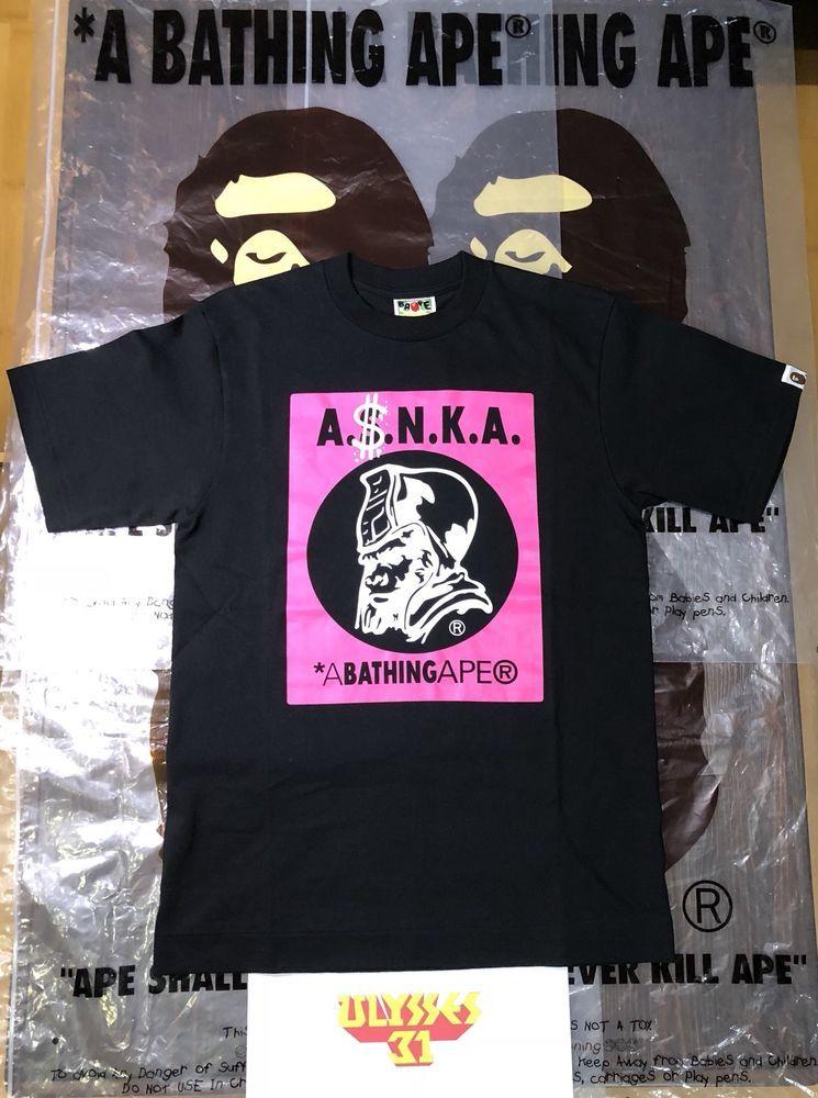 A BATHING APE Generals T-Shirt BAPE Tee  BAPE  GraphicTee 96214ea25521