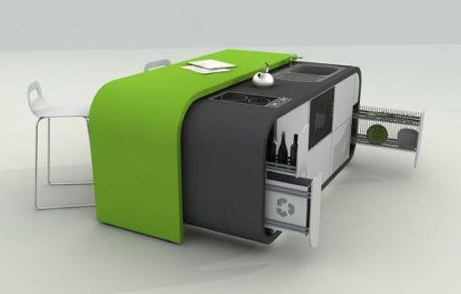 #kitchen concept - fevzi Karaman http://www.buymedesign.com/blog/top-modular-design-selection/