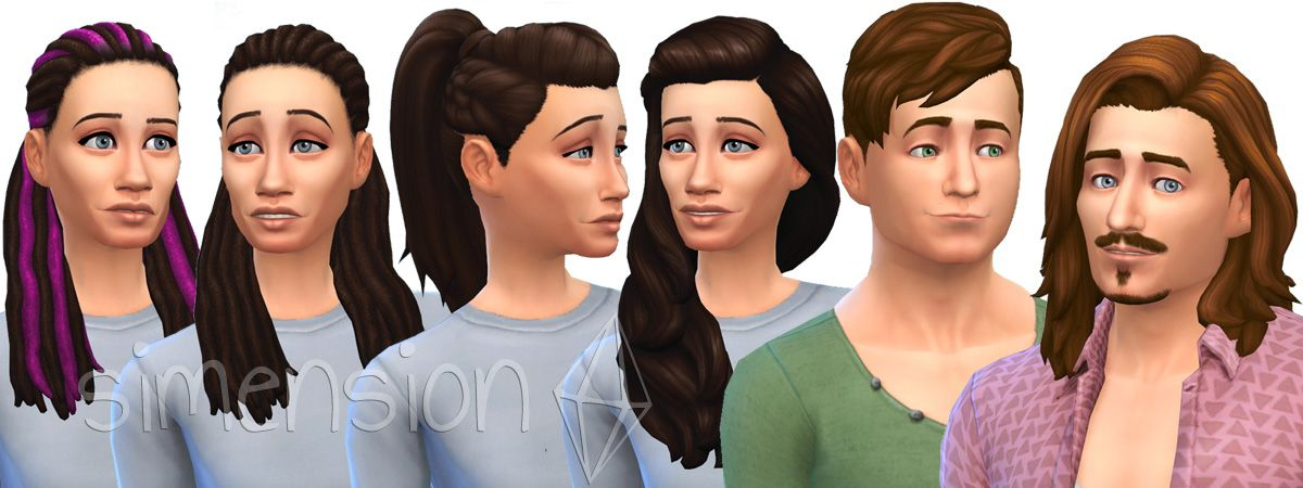 Sims 4 Hairstyles Hairstyles Popular Hairstyles Hair Styles
