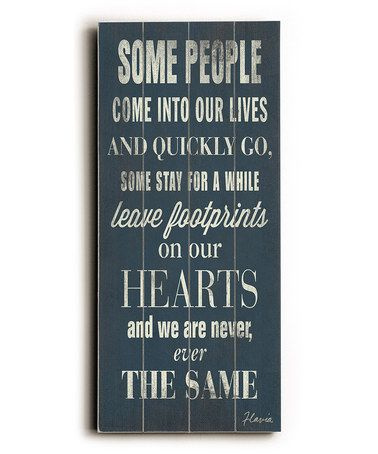 'Some People' Wall Art by ArteHouse #zulily #zulilyfinds