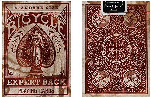 Bicicletta Distressed Back esperto di carte Bicycle Distressed Expert Back Playing Cards