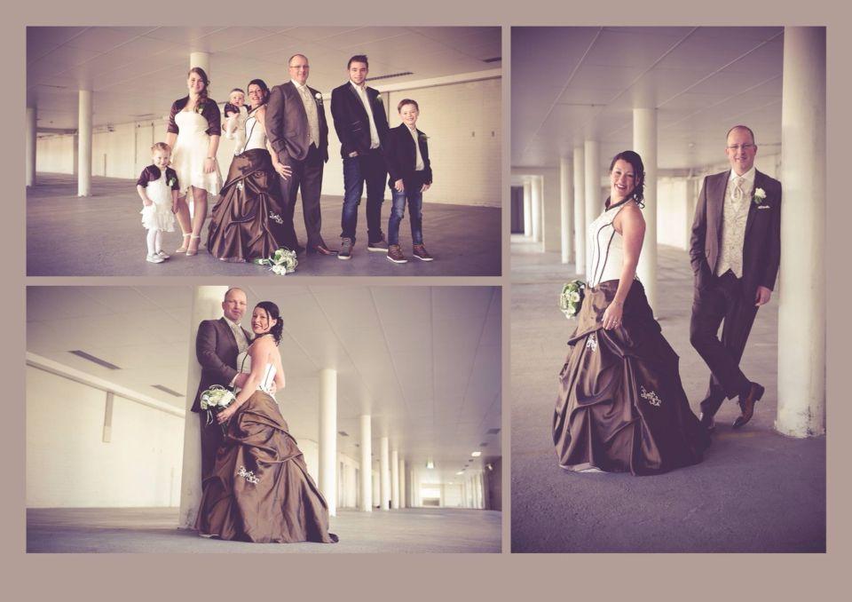 Bruid en bruidsmeisjes!