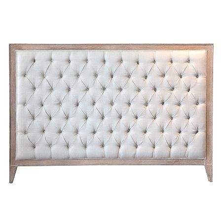 Hudson Furniture Florida Bedhead   Made From Solid American Oak With A  Light Painted Wash.