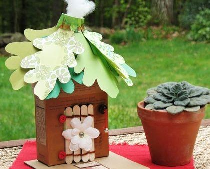 Tissue Tube Dwarfs Fairy Crafts Cottage Crafts Crafts