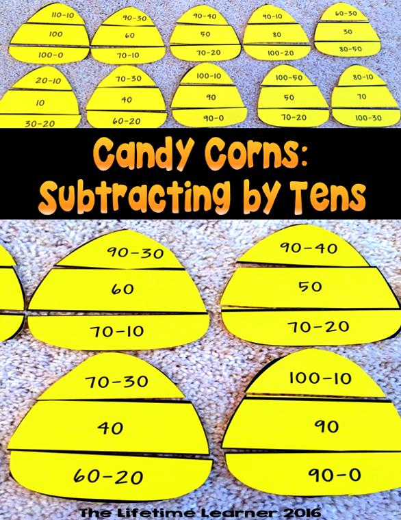 Subtraction Puzzles Halloween Math Halloween math