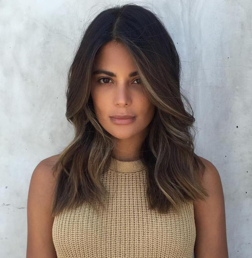 20 Best Face Framing Highlights For Every Face Shape Brown Hair Balayage Dark Hair With Highlights Beauty Hair Color