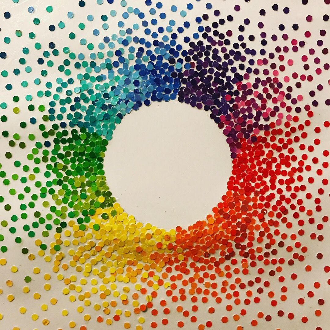Rainbow Dot Inspired By Dot Day