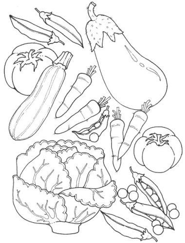 صور فواكه و خضر لتلوين Recherche Google Coloring Pages Vegetable Coloring Pages Healthy Food Art