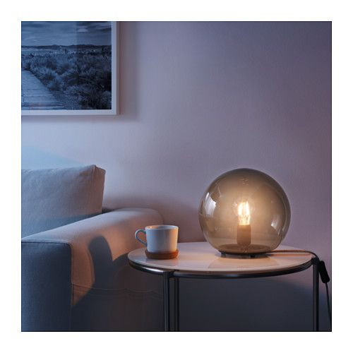 Fado Table Lamp With Led Bulb Ikea Not Bright At All But Would Be Terrific For An Accent 24 99