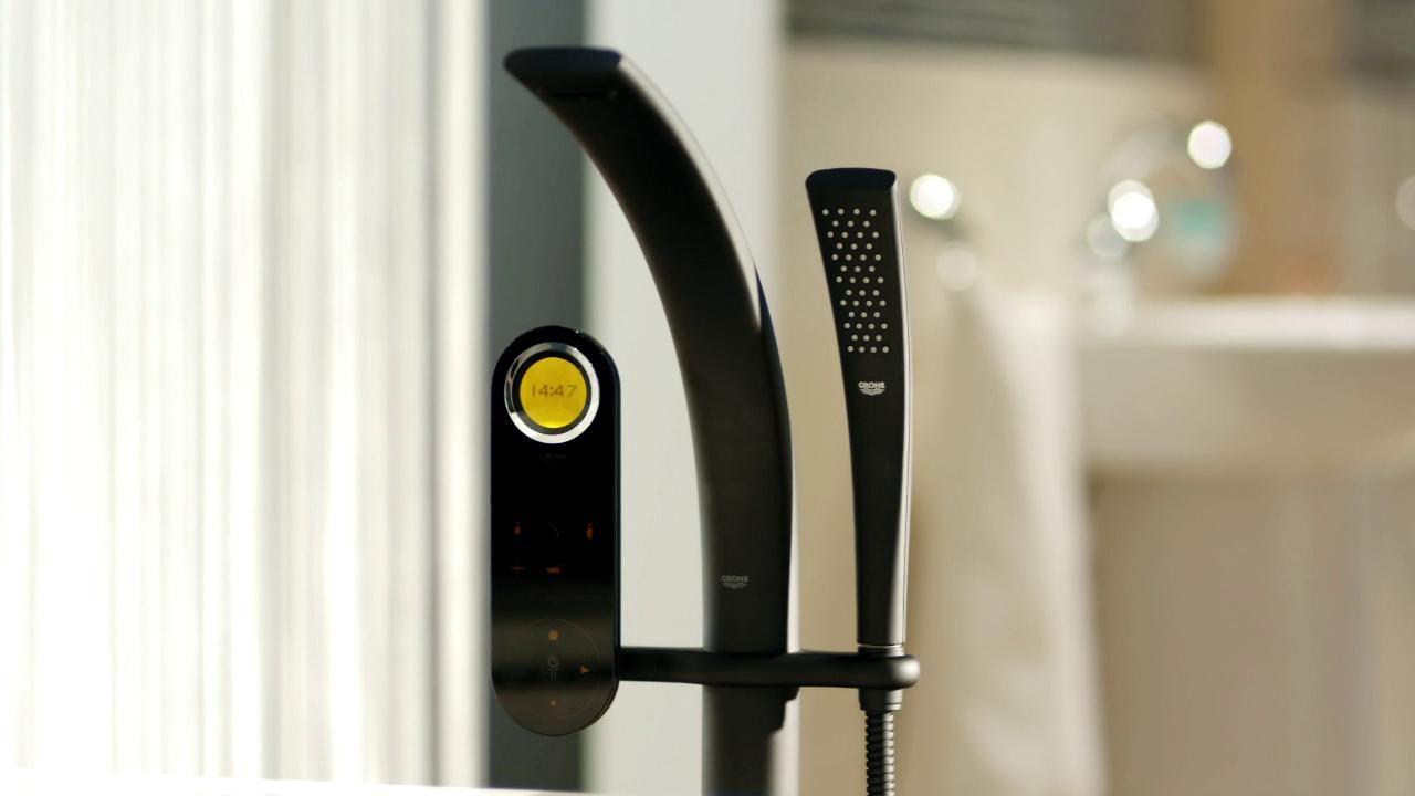 grohe ondus digital enjoy the digital intelligence. Black Bedroom Furniture Sets. Home Design Ideas