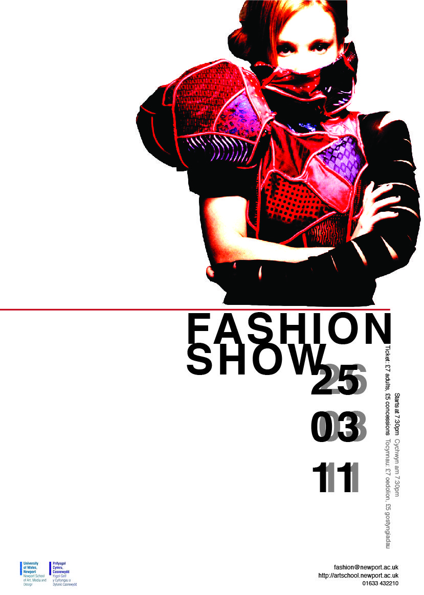fashion show poster ideas