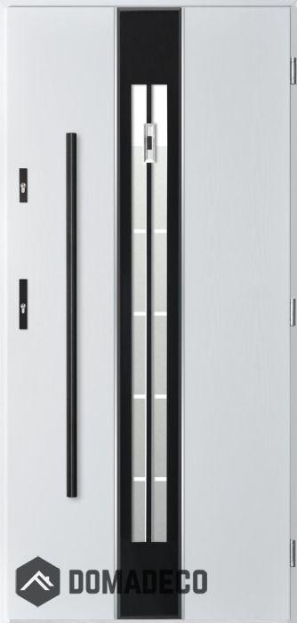Pascal 3d Contemporary Front Door External Wooden Doors
