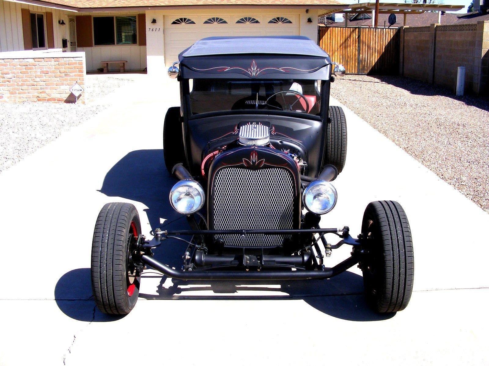 1927 Ford Model T 2D Sedan Rat Rod Style Hot Rod Chopped   Hot ...