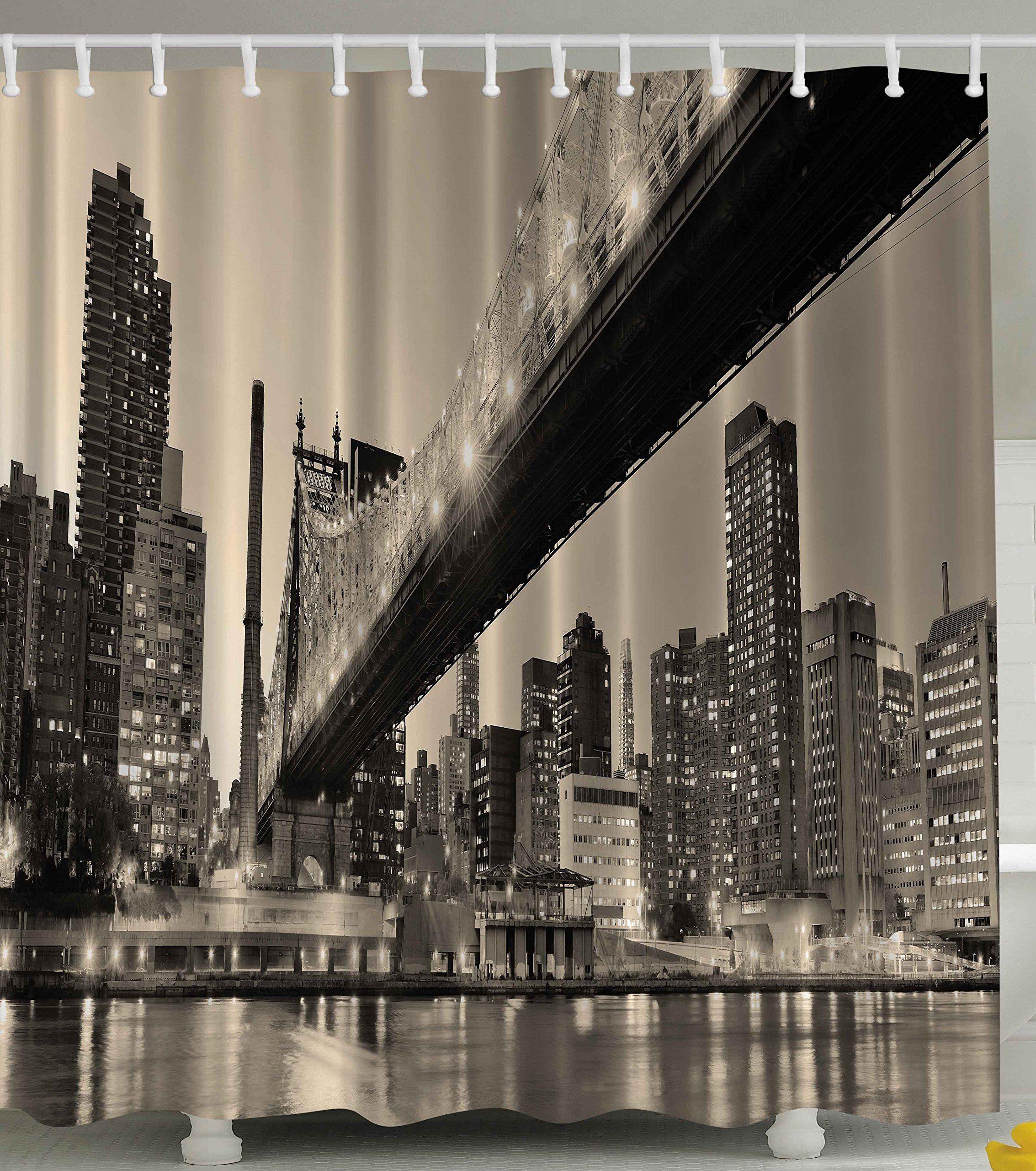 Queensboro Bridge NYC Night Art Prints New York City View Modern ...