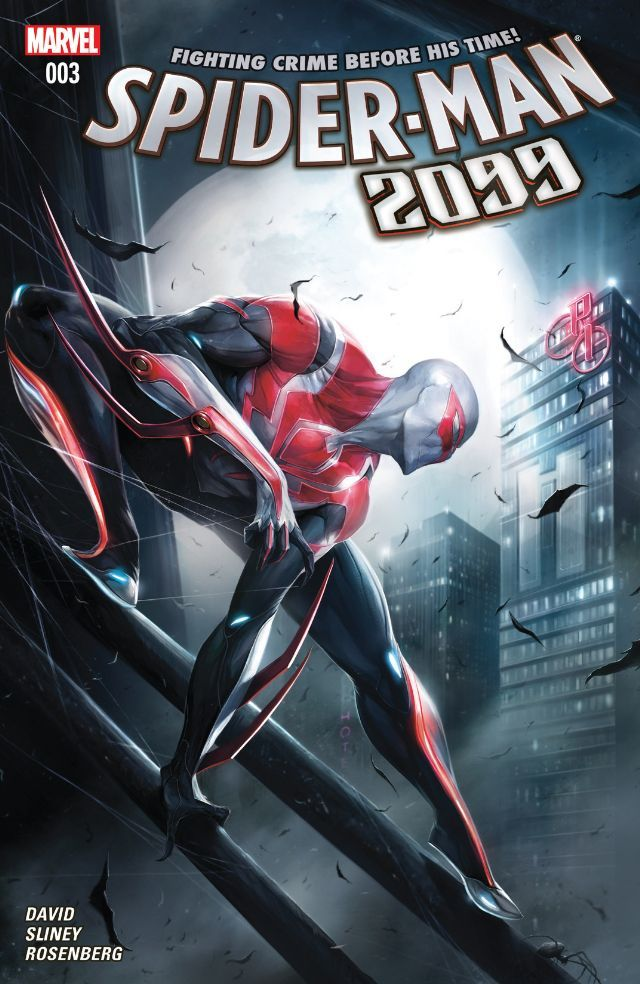 Spider-Man 2099 (2015) #3 #Marvel #SpiderMan2099 (Cover Artist: Francesco Mattina) Release Date: 11/11/2015