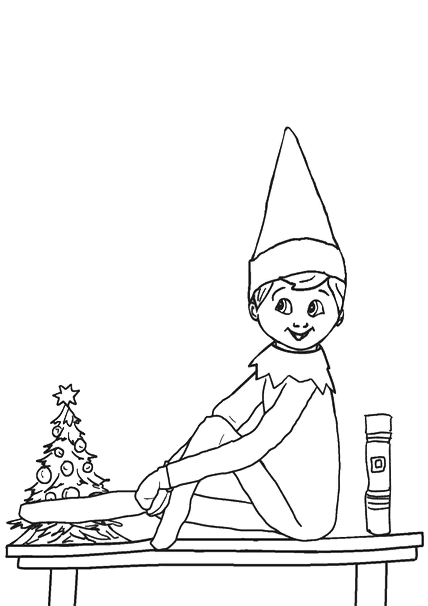 Free Printable Elf On The Shelf Coloring Pages Valentines Day Coloring Page Coloring Pages Easter Coloring Pages