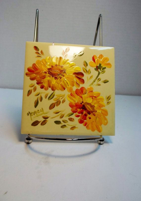 So Nice Flowers In Yellow And Orange By Joanna From Aromatika