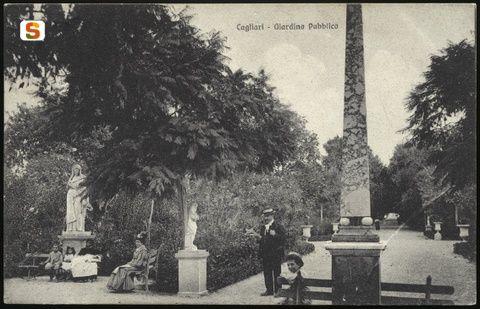 Cagliari, giardini pubblici Paesaggi, Giardino