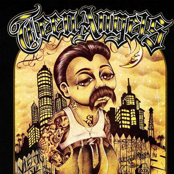 Angel magazine teen chicano prison art useful topic