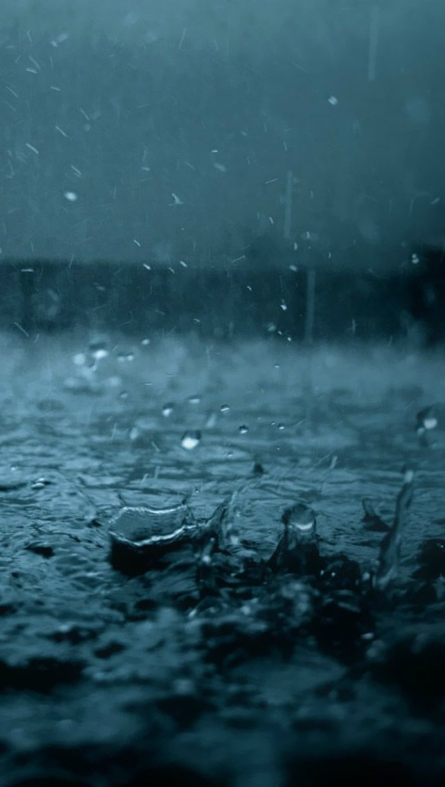 Raining IPhone 5 Wallpaper Download
