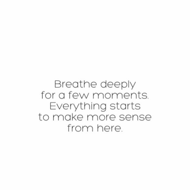 Breathe 🖤 . . 🖤 if you relate!