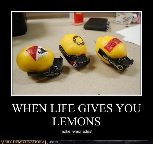 When Life Gives You Lemons Portal Memes Funny Games Lemonade