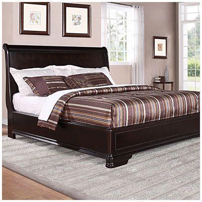 Trent Complete King Bed At Big Lots Big Lots Furniture King Beds Bedroom Furniture