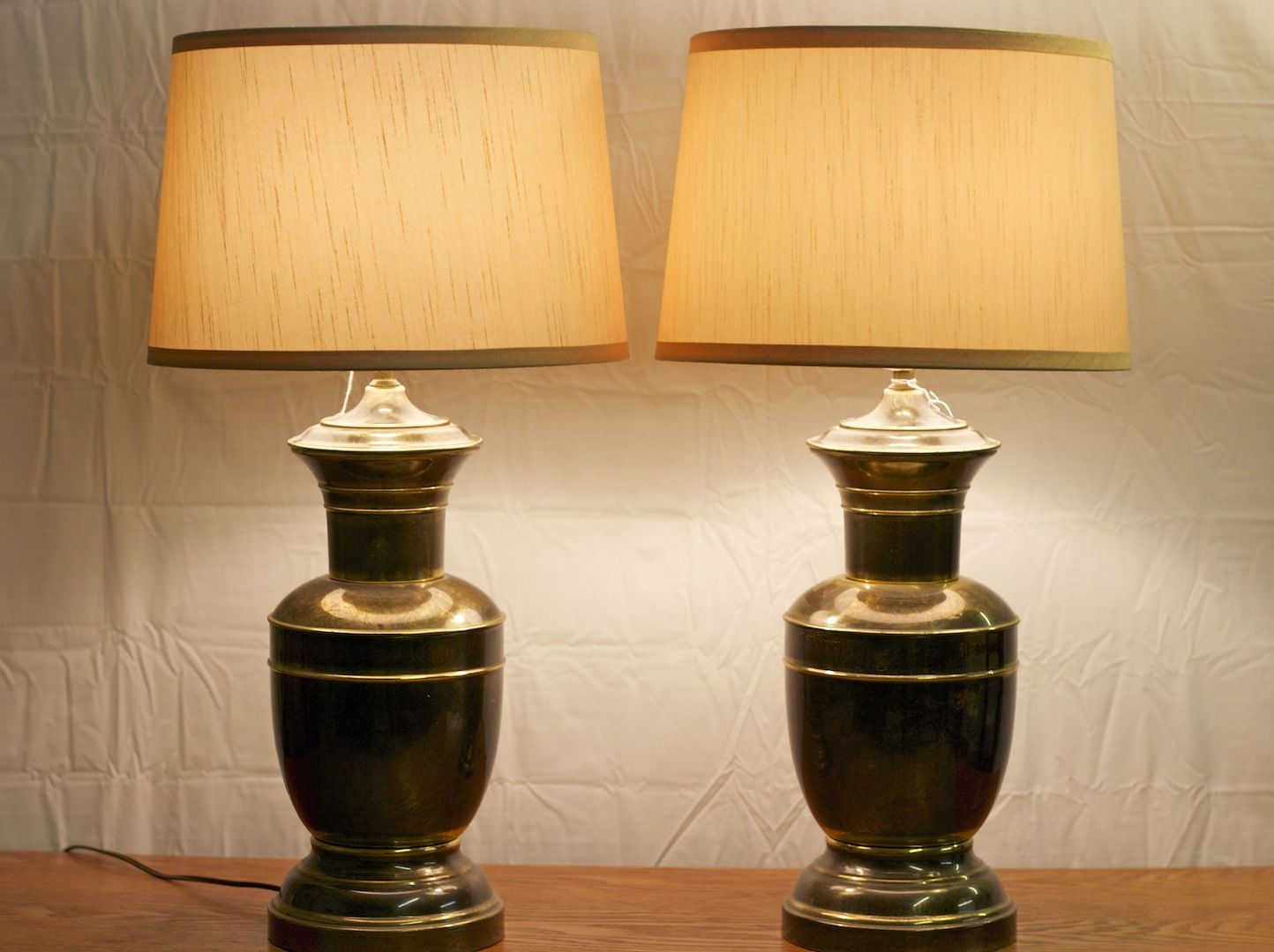 Antique brass table lamp table lamps pinterest nightstand antique brass table lamp mozeypictures Images