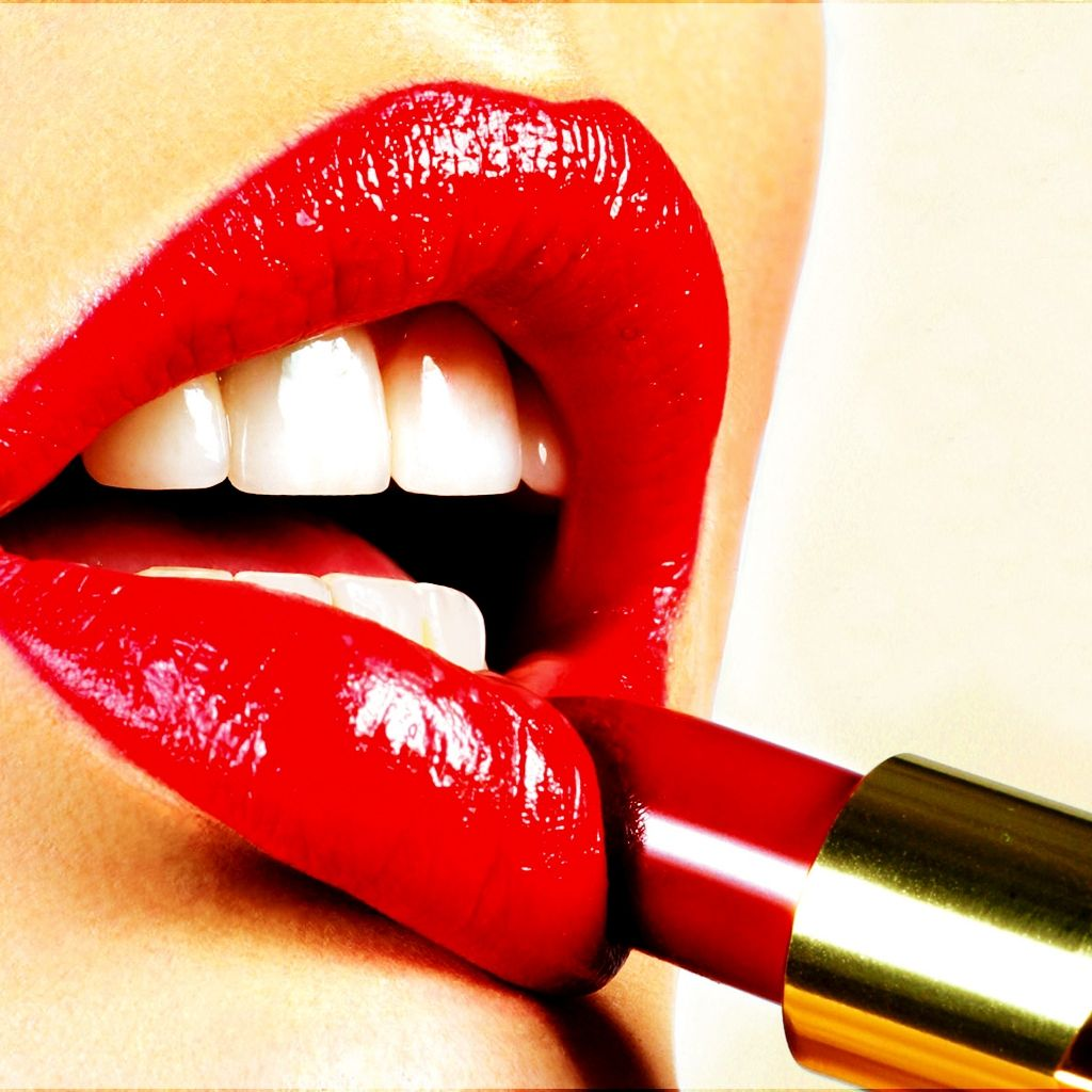 Lipstick Free Lips Lipstick Hd Ipad Wallpaper Designs
