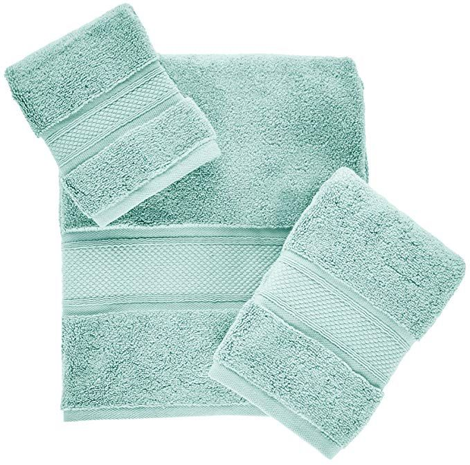 Springmaid Towel Collection Bath Towel Aqua Green Review Aqua