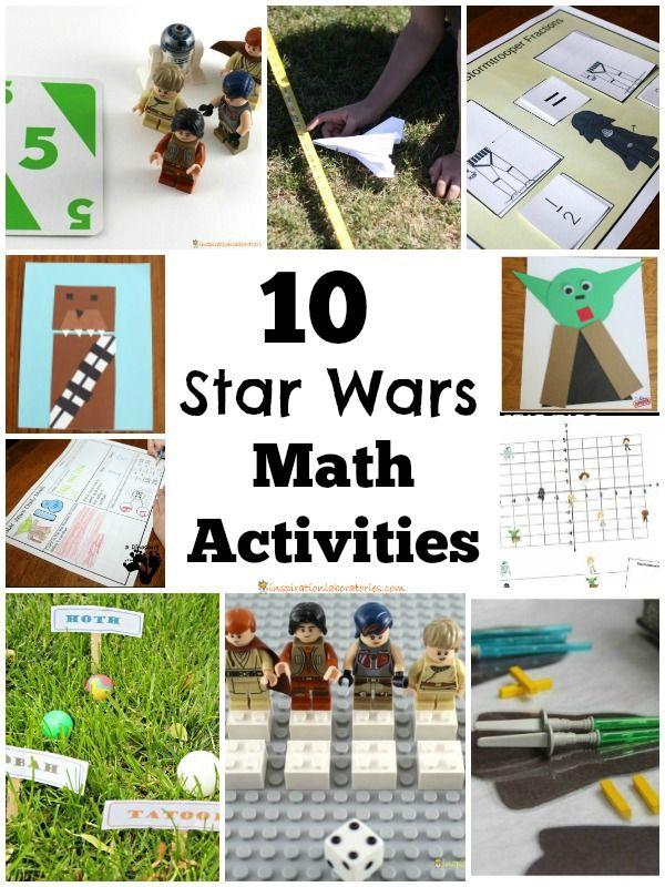 15 Star Wars Math Activities | Einrichtung und Kind