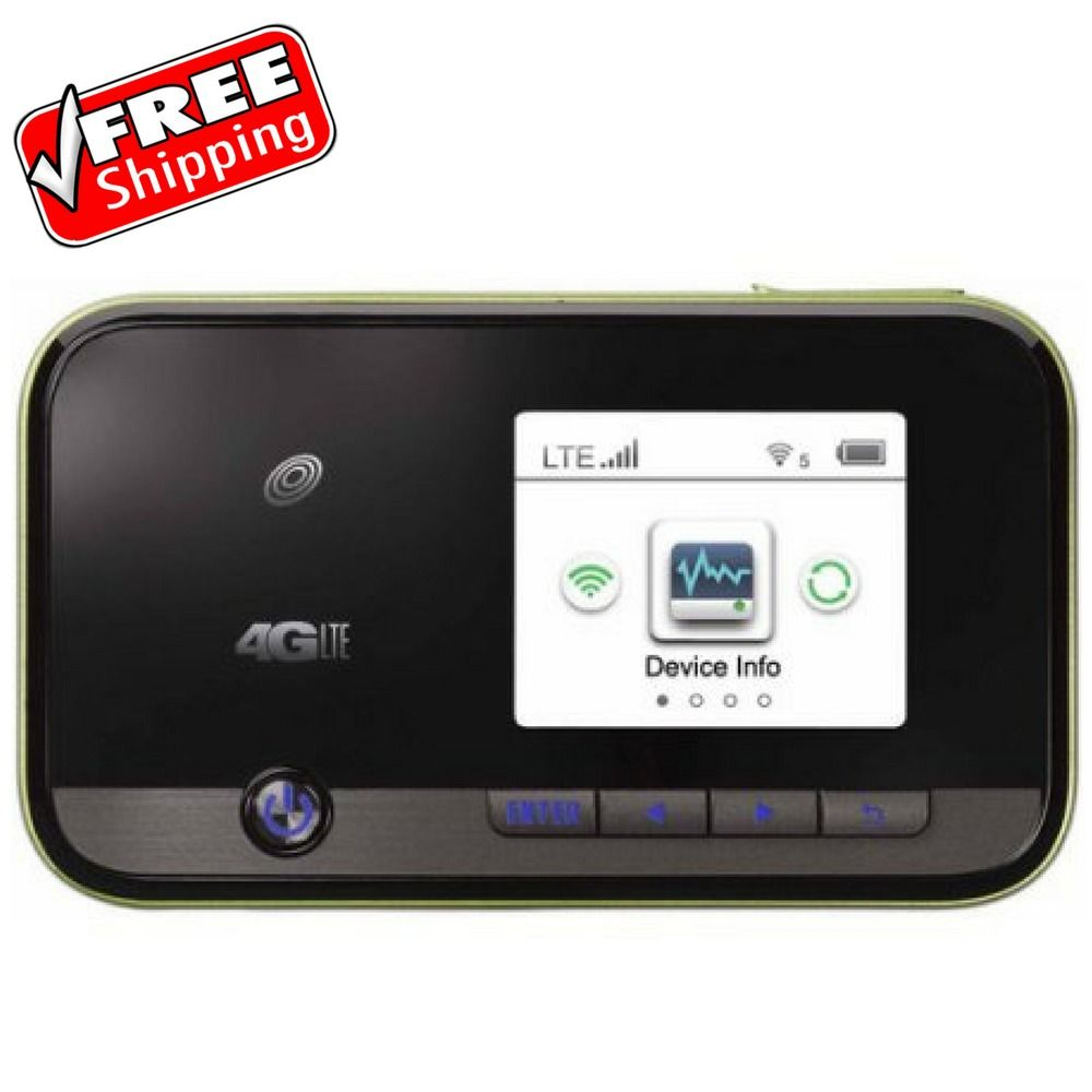 Straight Talk ZTE Z288C 4G LTE Mobile Wifi Hotspot