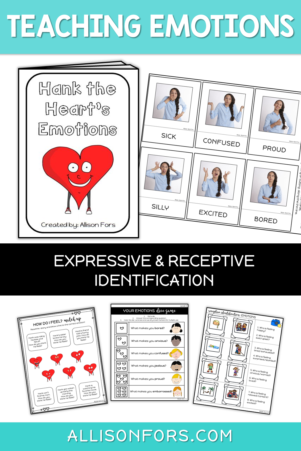 Emotions Activities For Kids And Preschool Work On