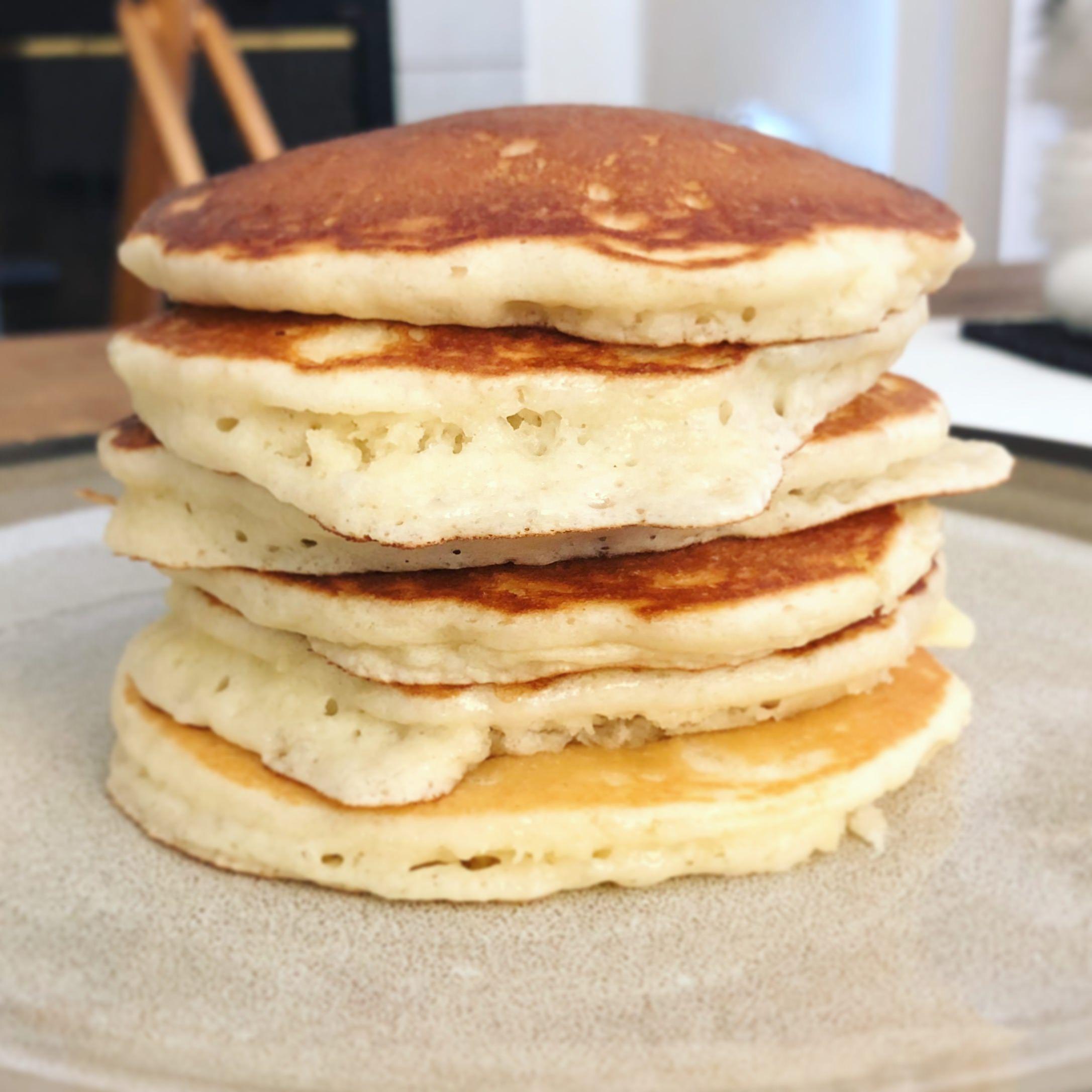Homemade] Fluffy pancakes   yummy   Pinterest