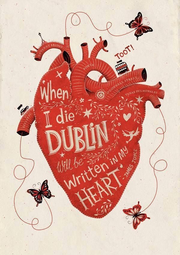 """Niall O'Kelly on Twitter: """"For the day that's in it — beautiful #illustration & #lettering by @SteveSimpson #Bloomsday2015 #Ulysses http://t.co/ZhjDM4EjAr"""""""