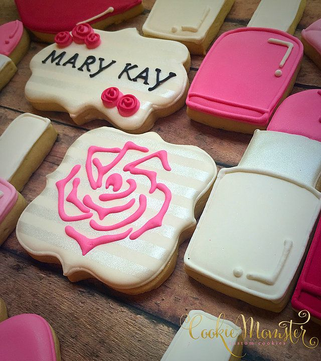 Cookie Momster by Hilary I Custom Cookies in Houston Pasteles