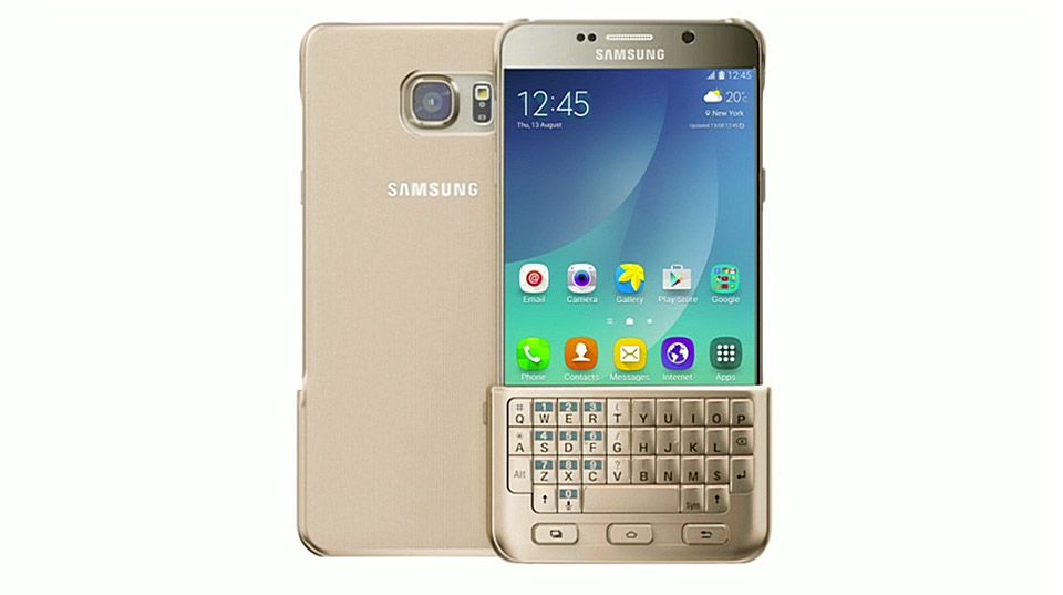 Samsung's launches a keyboard cover for its newest phones