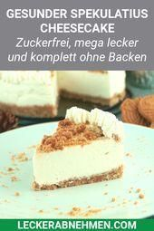#spekulatius #cheesecake #without #fitness #rezepte #baking #simple #recipe #losing #weight #forSpek...