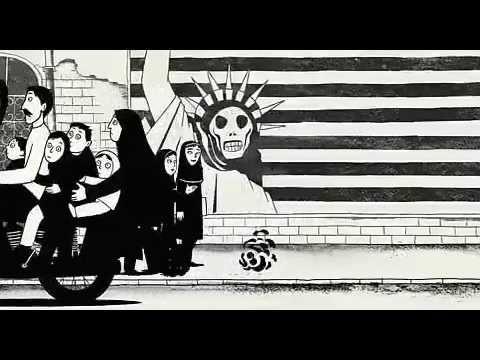 Persepolis 2007 Trailer Eng Subs Film Adaptations Animation Film Graphic Novel