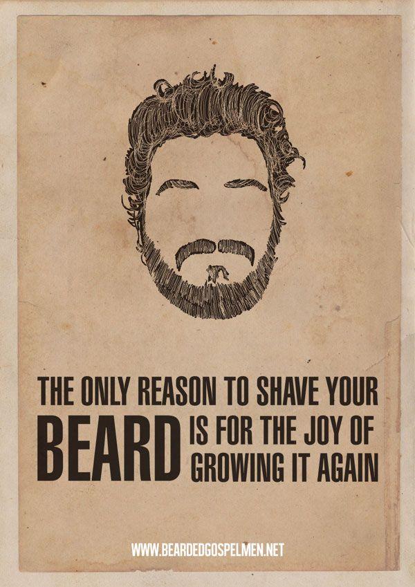 Photo of Pro Beard Zitat Poster von BeardedGospelMen (16 Bilder)> Mode / Lifestyle, …