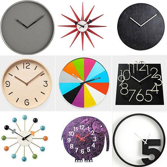 14 Wall Clocks That Make Us Tick