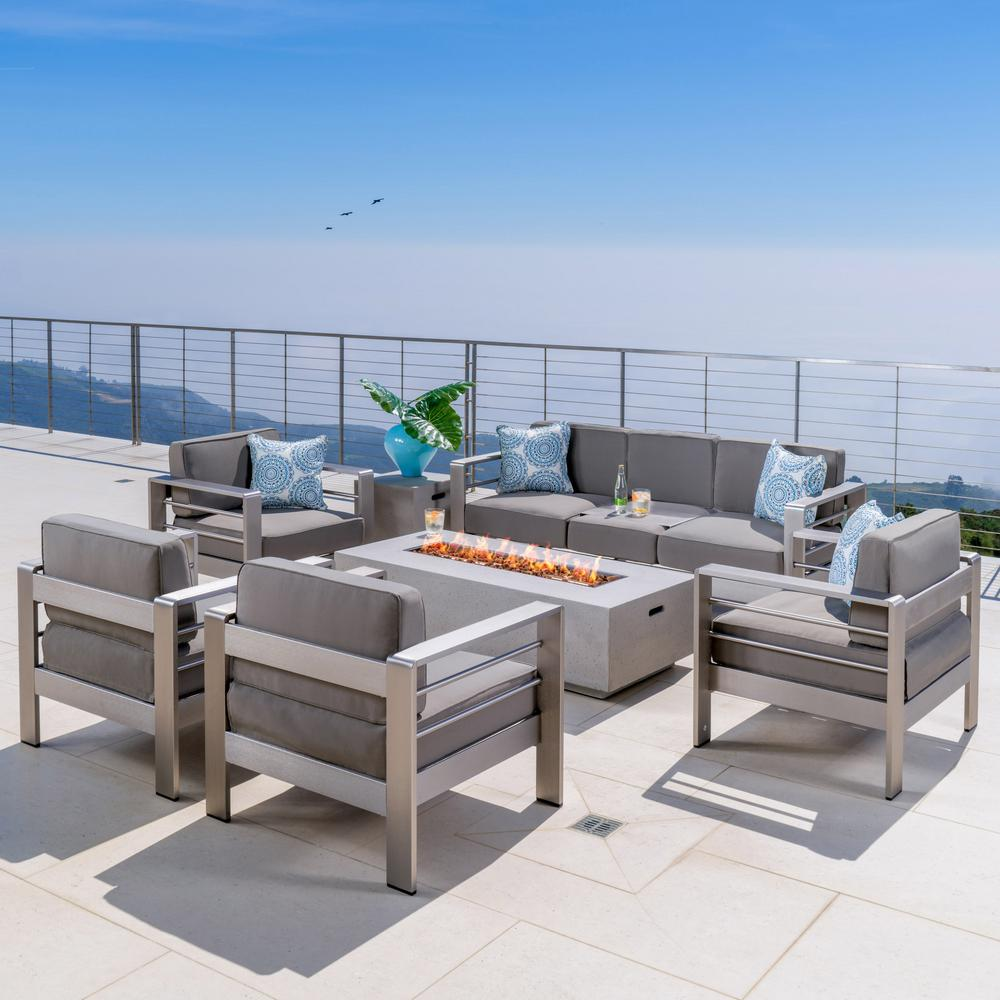 Download Wallpaper Patio Furniture Sets With Fire Pits